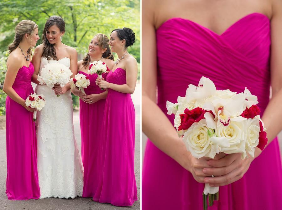 Online Get Cheap Hot Pink Beach Bridesmaid Dresses -Aliexpress.com ...