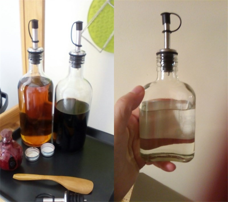 1PC Stainless Steel Oil Bottle Spout Pourer 1