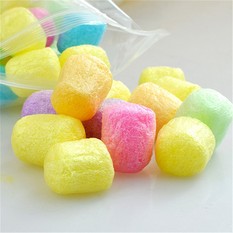 DIY Crystal Silkworm Shell Plasticine Filler Fluffy Charms Slime Additives For Slices KidToy To Release Toy Pearl Clay ForSlime