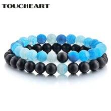 Toucheart 2 шт/компл повседневные браслеты из натуральной искусственной