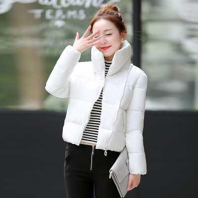ФОТО Wadded Jacket Female 2016 New Winter Jacket Women Cotton Jacket Short Bread Parkas Ladies Winter Coat Plus Size A3955