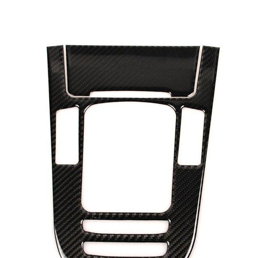 Car Interior Console Carbon Fibre Gear Shift Box Panel Cover Trim For A4L A5 Q5 vel vel 03 06 04 00800