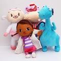 Lindo Del Envío Libre Doc Mcstuffins Clínica de Peluche de Felpa Animales de Peluche de Juguete Muñeca Suave Para Niños Brinquedo Regalos de Cumpleaños de la Muchacha