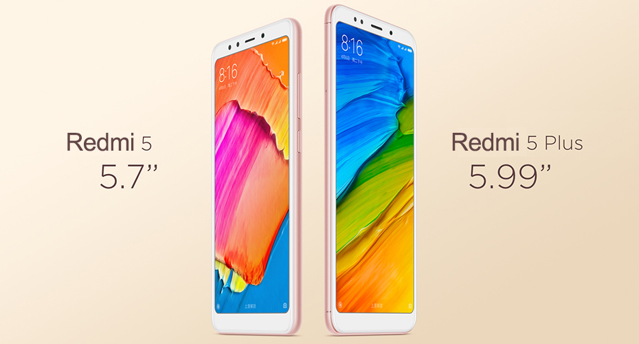 Redmi 5 vs 5 plus