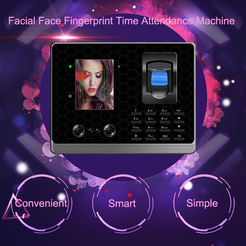 цена Eseye Biometric Time Attendance System Fingerprint Reader Face Time Attendance Access Control Clock For Office Employees Device