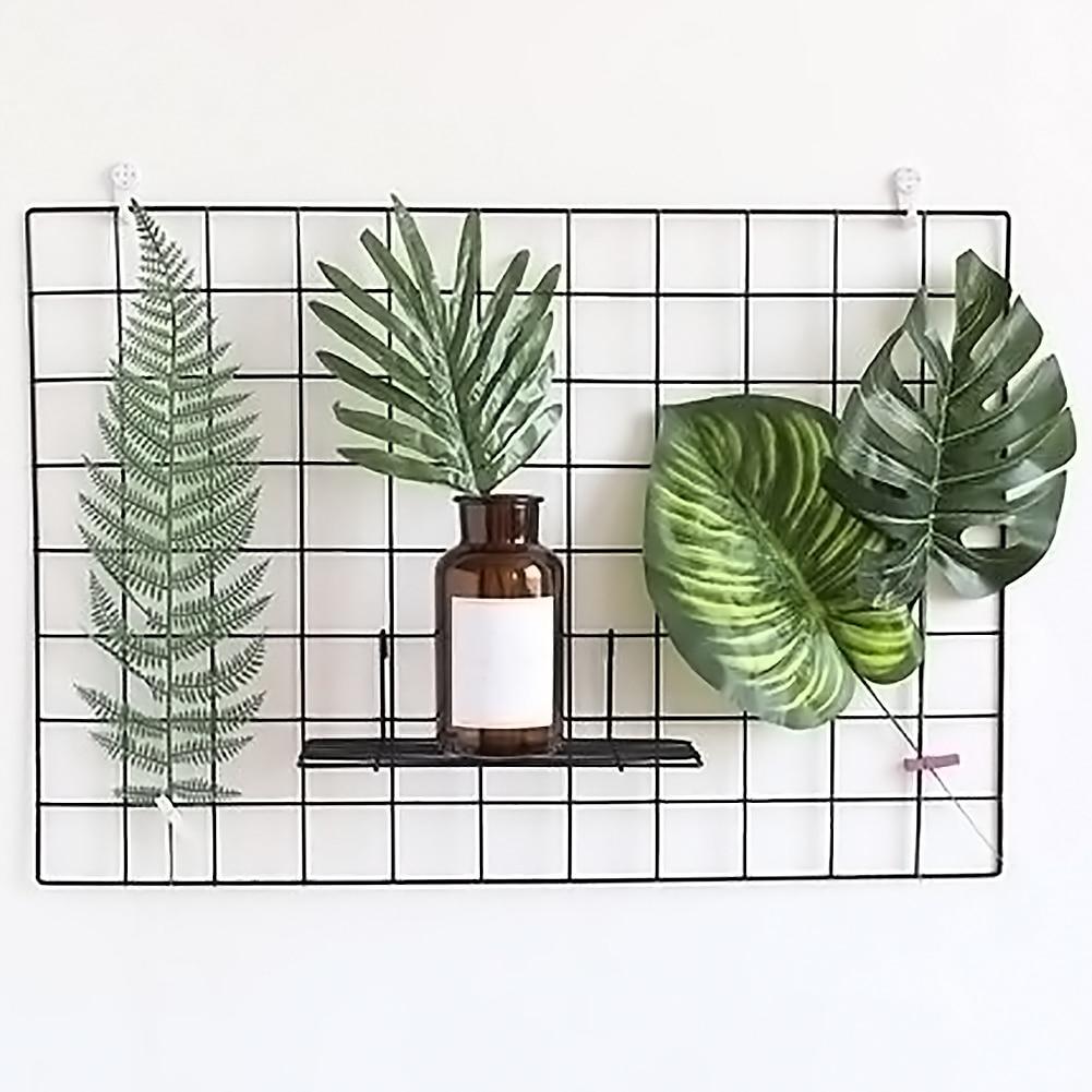 60cm - 65cm Artificial Garland Plants Plastic Artificial Flower Christmas  Blogger Photo Prop Wall Shelf Home Wedding  Decor