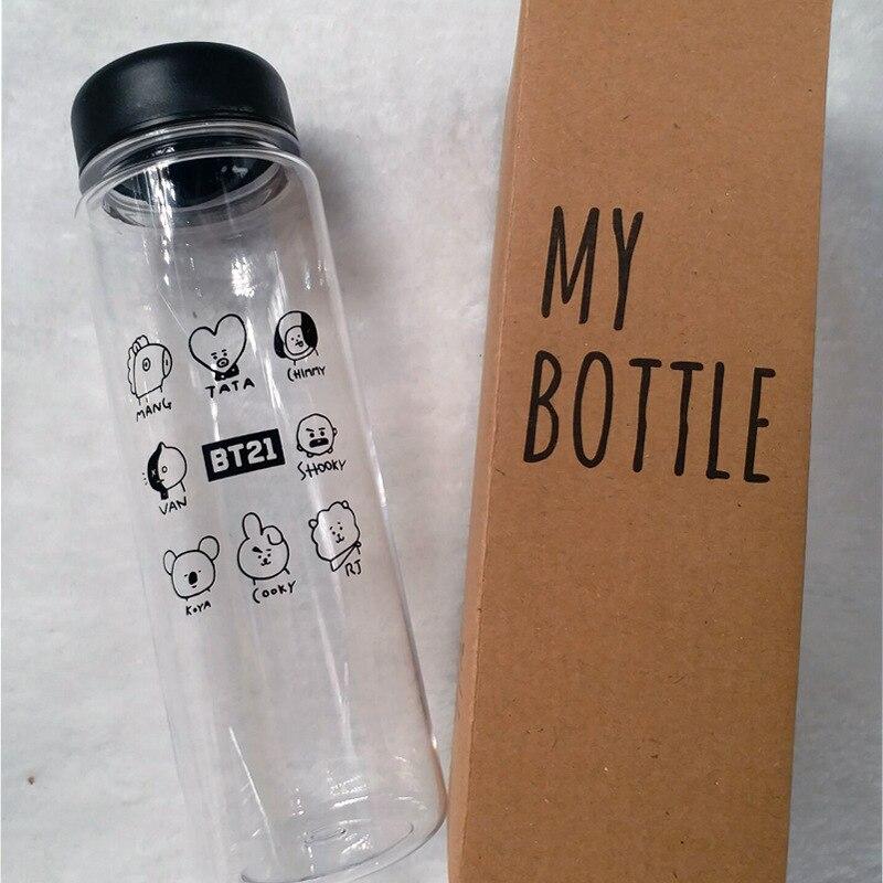 [MYKPOP]BTS BT21 MY BOTTLE Water Bottle K-POP Fashion Fans Gift SA18060318