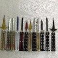 Ataque en Titán Naruto Espada Arte Online One Piece Lejía Tumba notas WOW mayal cuchillo cuchilla armas llavero Anime Modelo de Juguete