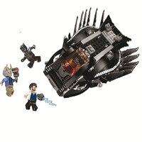 10837 Супер Герои Королевский талон боец атака фильм строительный блок игрушки в комплекте с черной пантерой