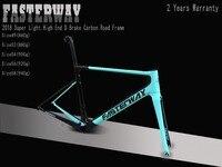 2018 тайваньский бренд FASTERWAY классический высокое качество и супер легкий SGS тест карбоновая велосипедная Рама: рамка + подседельный штырь + ви