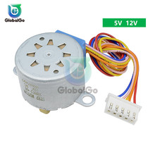 Smart Electronics 28BYJ-48 5V 12V 4 Phase DC Gear Stepper Motor Driver 28byj 28byj48 28byj-48-12V Step Motor недорого
