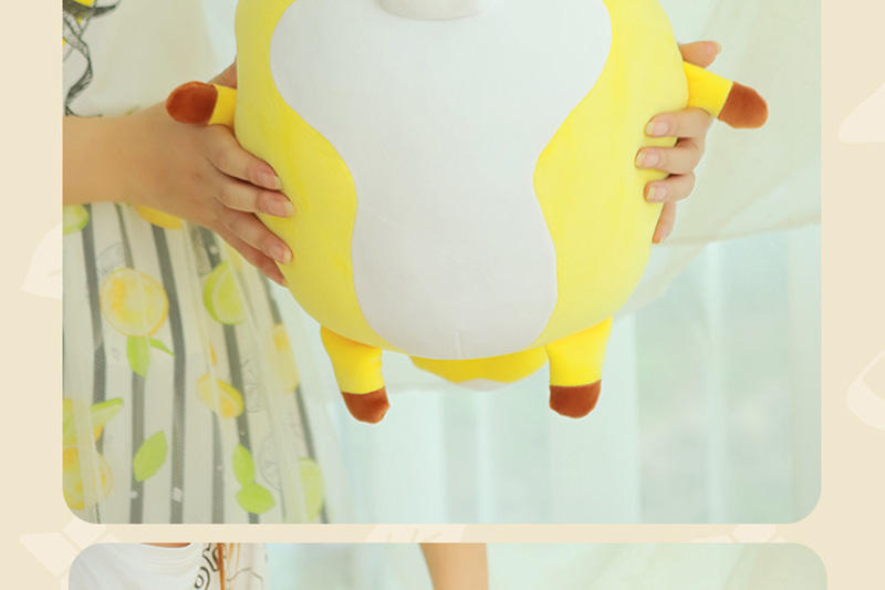 1pcs 40cm Super Cute Fox Plush Dolls Toy Civet Cat Stuffed Animal Plush Toys for Baby Kids BirthdayXmas Gift (6)