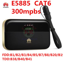 Unlocked cat6 Huawei E5885 300mbps 4g wifi router 4g wi-fi router Mobile WiFi PRO 2 wiith rj45 power bank pk E5786 e5770 ac810s
