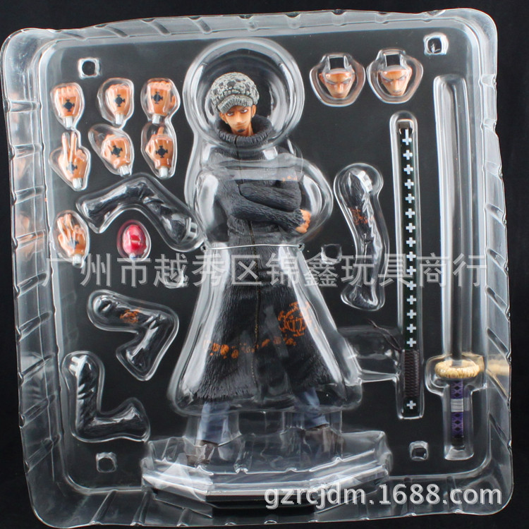 23CM One Piece Trafalgar Law Anime Collectible Action Figure PVC Collection toys for christmas gift Free shipping 2pcs set one piece trafalgar law corazon anime collectible action figure pvc toys for christmas gift with retail
