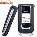 Desbloqueado 6131 teléfono móvil original nokia 6131 barato teléfono gsm cámara fm bluetooth de la buena calidad