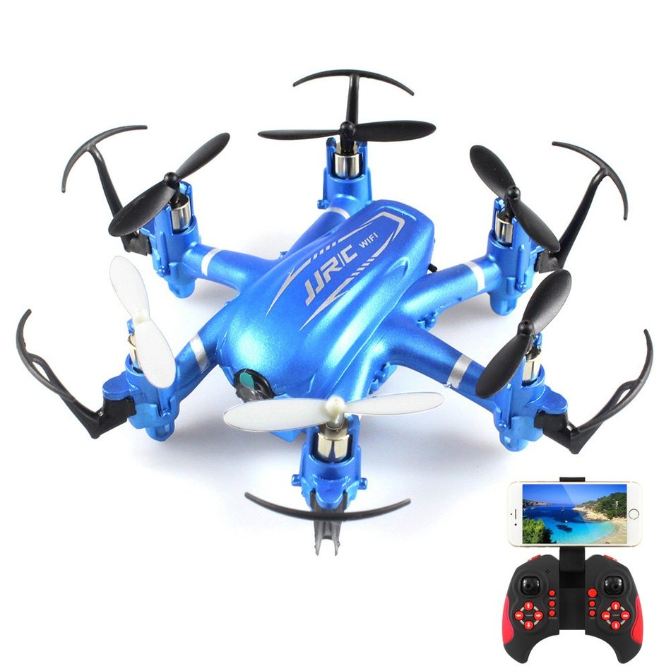 Headless Mode JJRC H20W HD 2MP Camera Drone WIFI FPV 2.4GHz 4 Channel 6 Axis Gyro RC Hexacopter Remote Control Toys Nano Copters