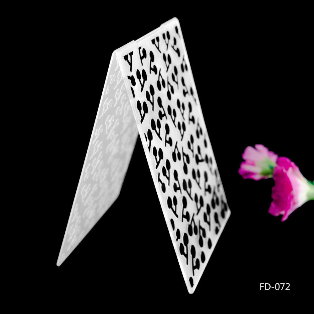 2019 New Arrival Scrapbook Cherry Design DIY Paper Cutting Dies Scrapbooking Plastic Embossing Folder in Embossing Folders from Home Garden