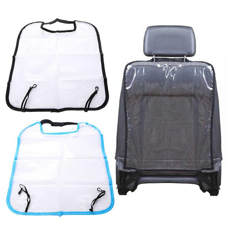 Детский автомобильный чехол на автомобильное сидение, задняя крышка для детей, коврик для Кика, очиститель грязи, водонепроницаемый чехол для детской спинки, прозрачный