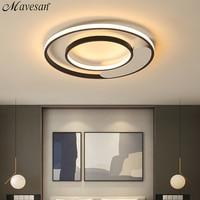 Mavesan bedroom lamp ceiling around for Plafond home 5 15square meters Lighting fixtures Modern plafondlamp dinning room