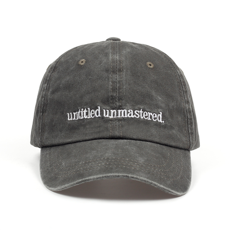 2018 new Kendrick Lamar Untitled Unmastered Embroidery hip hop Dad Hat Rap Brand   Baseball     Cap   Women Men snapback   cap   hats
