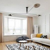3 головки Nordic Loft столовая потолочный светильник Креативный дизайнер Серж свет арт утконосветодио дный с светодиодный Кухня Бар Свет Беспла