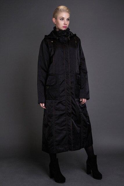BASIC 2016 зимняя куртка парка женщины куртки твердые тонкий x-долго хлопок молнии бесплатная доставка - JQM8040