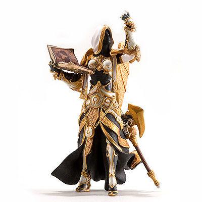 New Human Priestess Action Figure wow collection Model font b Toy b font