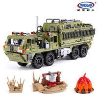 XingBao ww2 army series Scorpio heavy truck building blocks compatible Legoe Lepin blocks military educational toys for children