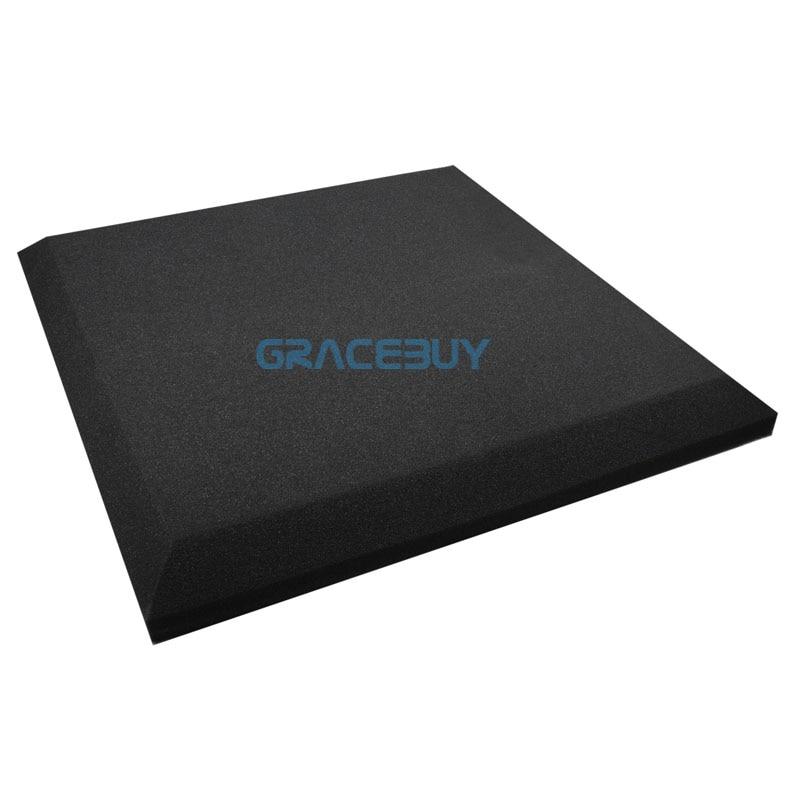 black acoustic foam spray soundproof foam insulation 50cmx 50cmx5cm sound deadening panels new