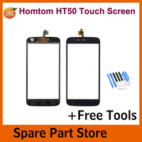 Angcoucoux Tested For Homtom HT50 5 5 Touch Screen Digitizer Front Glass Panel Sensor Replacement Parts