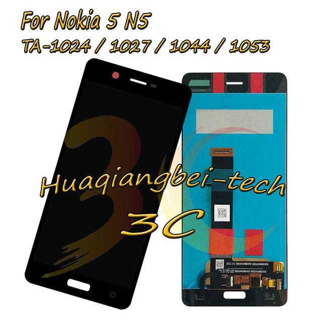 5.2 ''עבור Nokia 5 N5 TA-1024 TA-1027 TA-1044 TA-1053 מלא LCD + מסך מגע Digitizer עצרת עבור Nokia 5 100% נבדקו