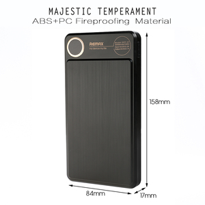 Image 3 - Remax RPP 59 20000mAh Power bank Dual USB Polymer battery External Battery Charger Mobile Phone Portable Fast Charging Powerbank