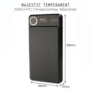 Remax RPP-59 20000 мАч Внешний аккумулятор с двойным USB полимерным аккумулятором, Внешнее зарядное устройство для мобильного телефона, портативное ...