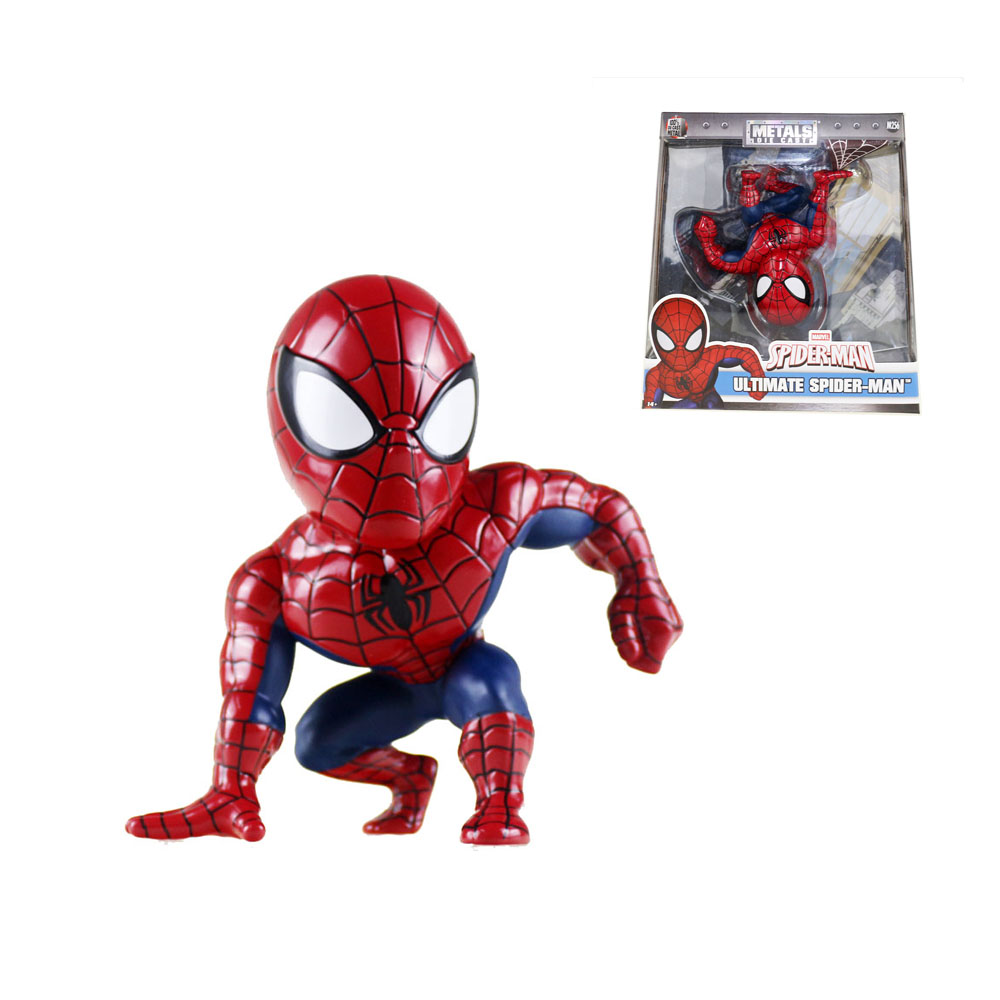 Ultimate Spider-Man Metals Die Cast 13cm/5 Figure M256 Free Shipping ultimate фишки для игры в покер ultimate номиналом 5