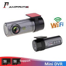 Amprime Mini Mobil Dash Kamera 30fps Monitor Full HD Tersembunyi Registrator Dashcam Di Depan Perekam Video Camcorder Motion Deteksi(China)