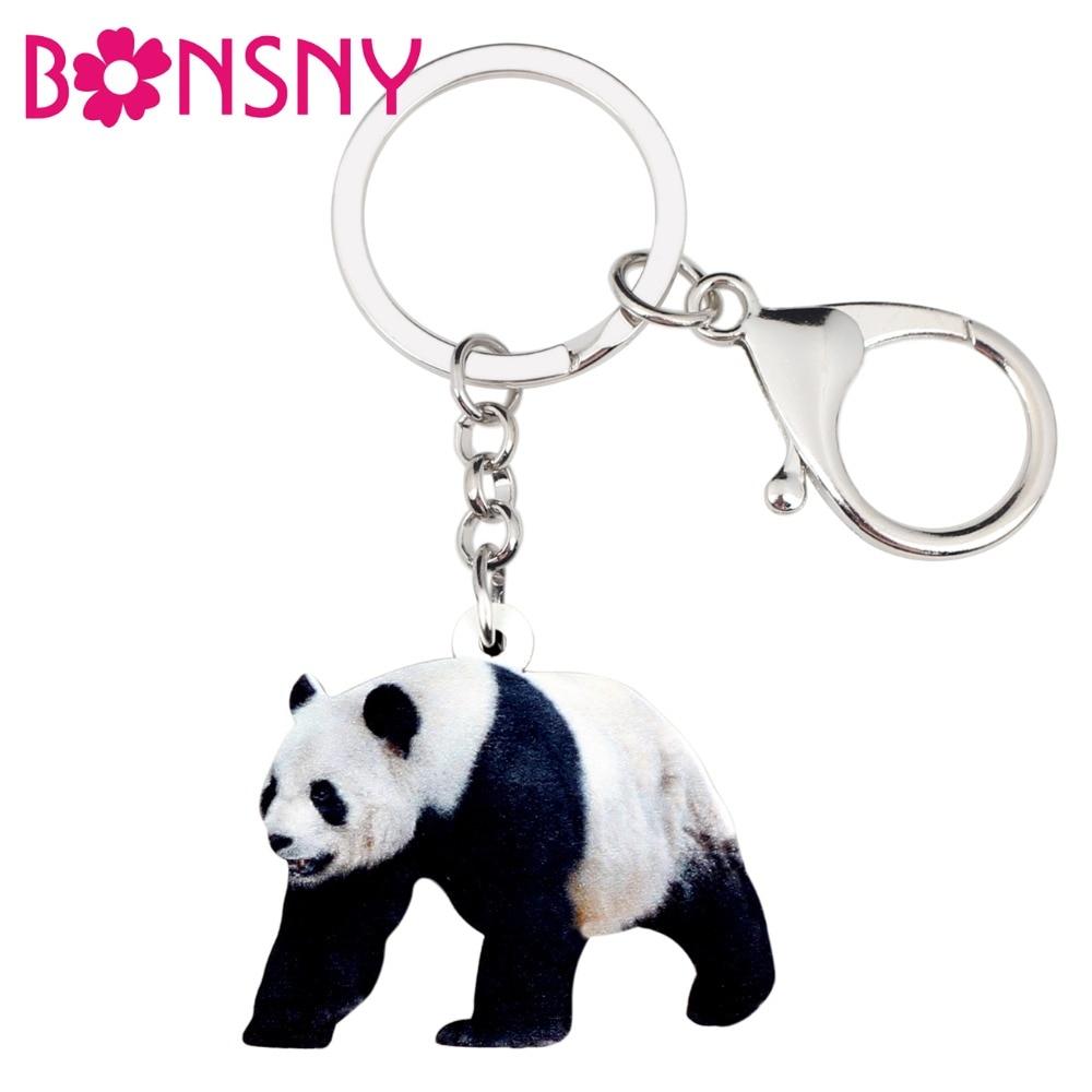 Stofftiere & Plüsch 1 Pc Mode Niedlichen Nationalen Schatz Panda Plüsch-schlüsselanhänger Tasche Anhänger Auto Plüsch Spielzeug Keychain