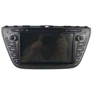 "Image 2 - PX6 DSP 8 ""1280*720 Android 10 Auto DVD Für Suzuki SX4 S Kreuz 2013 2015 auto Radio Stereo GPS Navigation Audio Video Backup Cam"