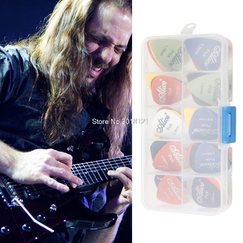 New 30Pcs Acoustic Electric Guitar Picks Plectrum Plectra Various Durable