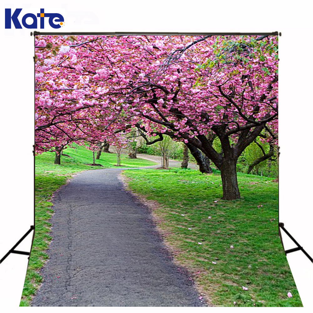 300Cm*200Cm(About 10Ft*6.5Ft) Fundo Blooms Between Forest Trail3D Baby Photography Backdrop Background Lk 2123 300cm 200cm about 10ft 6 5ft fundo red cloud beach birds3d baby photography backdrop background lk 2065