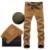 Delgado coreano pequeños pantalones ocasionales rectos masculinos pantalones de pana de terciopelo grueso de taxi Carga, además de Pantalones de lana Pantalones de algodón de invierno