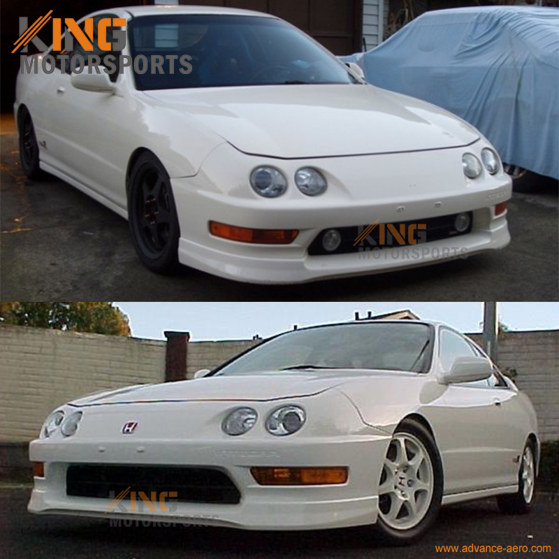 For Acura Integra 98 99 00 01 USDM Optional Urethane Front Bumper Lip Spoiler In Bumpers From Automobiles Motorcycles On Aliexpress