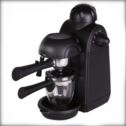 240ml Italian Espresso Coffee Maker 220V 800W 5 Bar Pressure Semi-Automatic Personal Coffee Machine with Cappuccino Milk Foamer