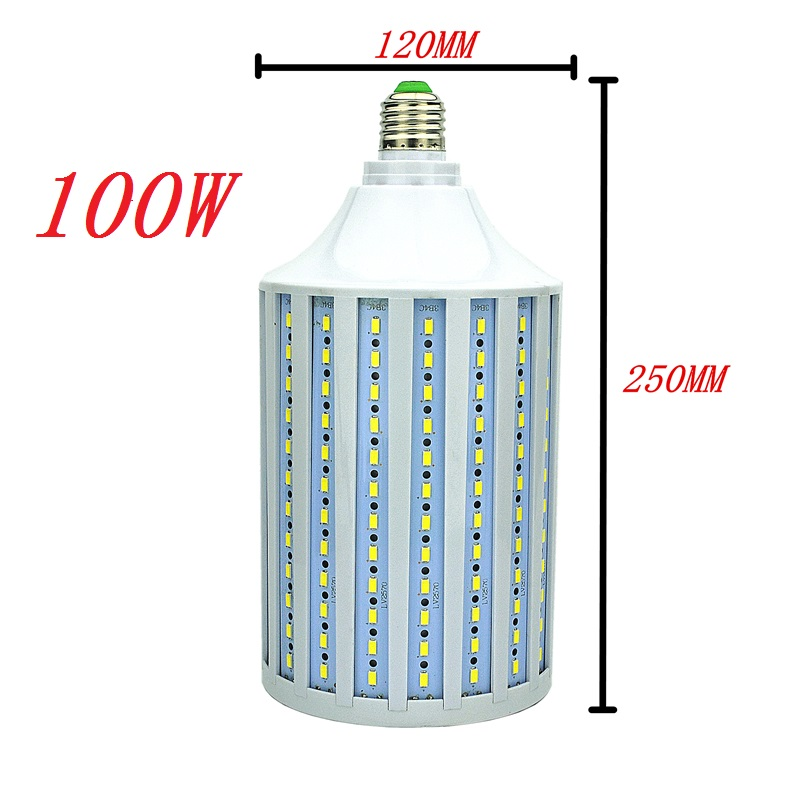 50W 60W 80W 100W LED Corn bulb Light E26 E27 E39 E40 B22 High brightness 110 220V Maize Lamp Home Indoor Outdoor street lighting e27 e40 street lighting 70w 100w 120w 180w corn lamp e26 e39 led bulb light for industrial high bay warehouse engineer spotlight