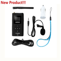 O Envio gratuito de 0.3 W 76 to108MHz NIO-T300M Ajustável Portátil Carro MP3 FM Estéreo PLL FM Transmissor