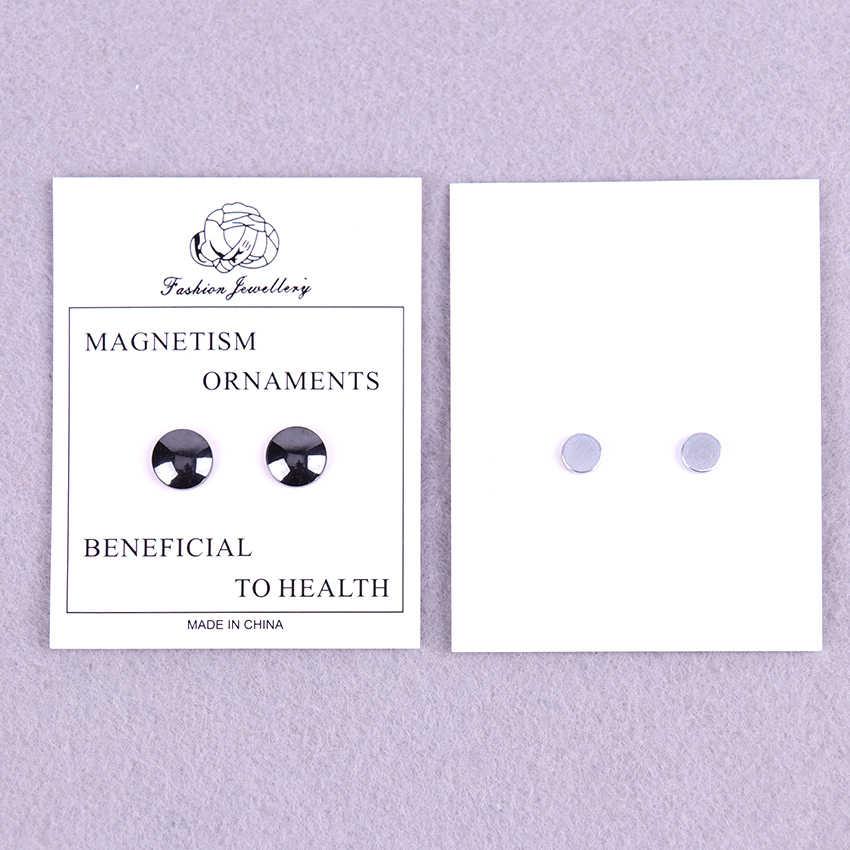 1 คู่ Slimming ต่างหู Unisex Magnetic Slimming Patch Ear Stud ต่างหู Acupoint นวดหูแม่เหล็ก Slim Patch
