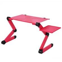 נייד עמדת מחברת שולחן מחשב נייד שולחן מגש עם עכבר מחזיק מעמד מחשב נייד שולחן מחזיק Pad נייד למיטה