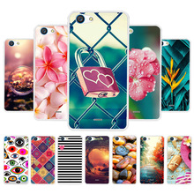 3D DIY Soft Silicone Case For ZTE A601 Coque Blade BA601 A 601 Cover Painted Back Fundas