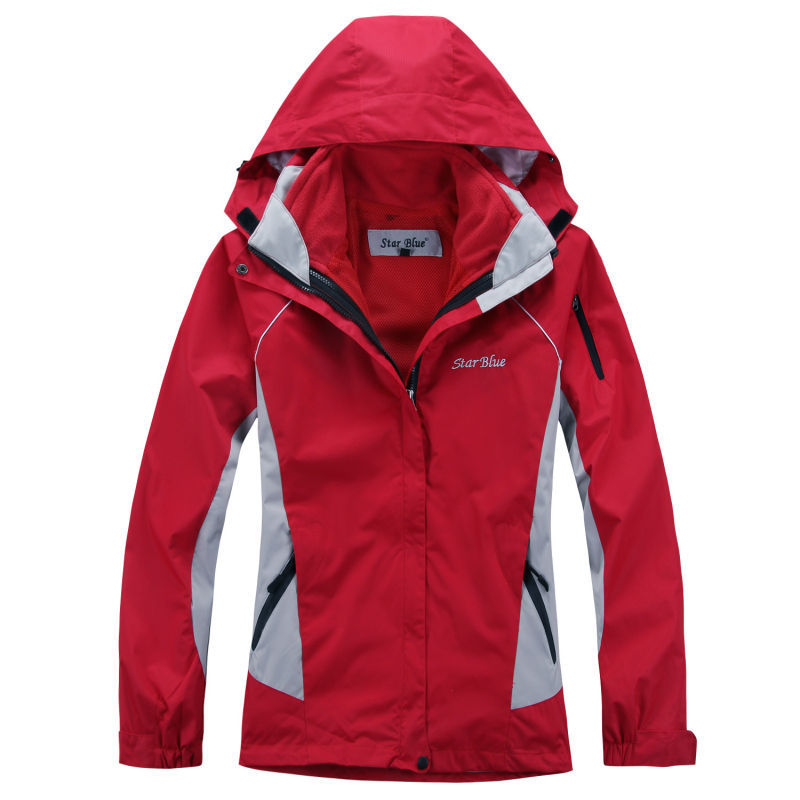 High Quality Womens Hooded Jackets All Weather Waterproof Windproof 2in1 Fleece Thermal Liner Warm Snow Outwear Jacket Coats