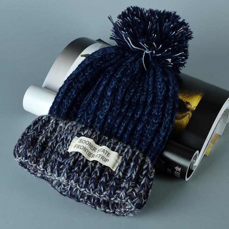 قبعة صوف دافئة نسائية 9