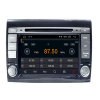 2 Din android 9.0 Car DVD Player 7'' Autoradio GPS Navigation For Fiat Bravo 2007 2008 2009 2010 2011 2012 Stereo